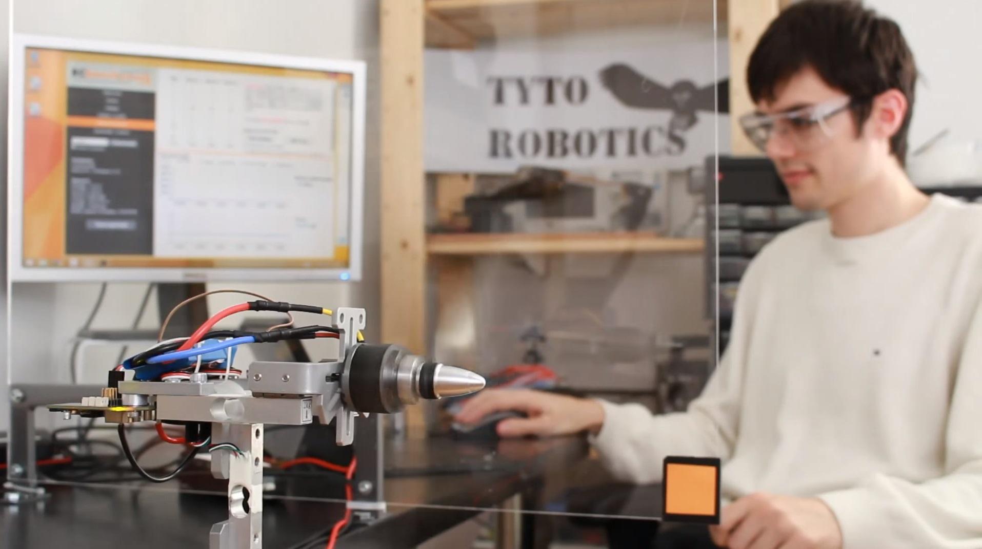 alt Dynamometer Test Brushless Motor in Lab